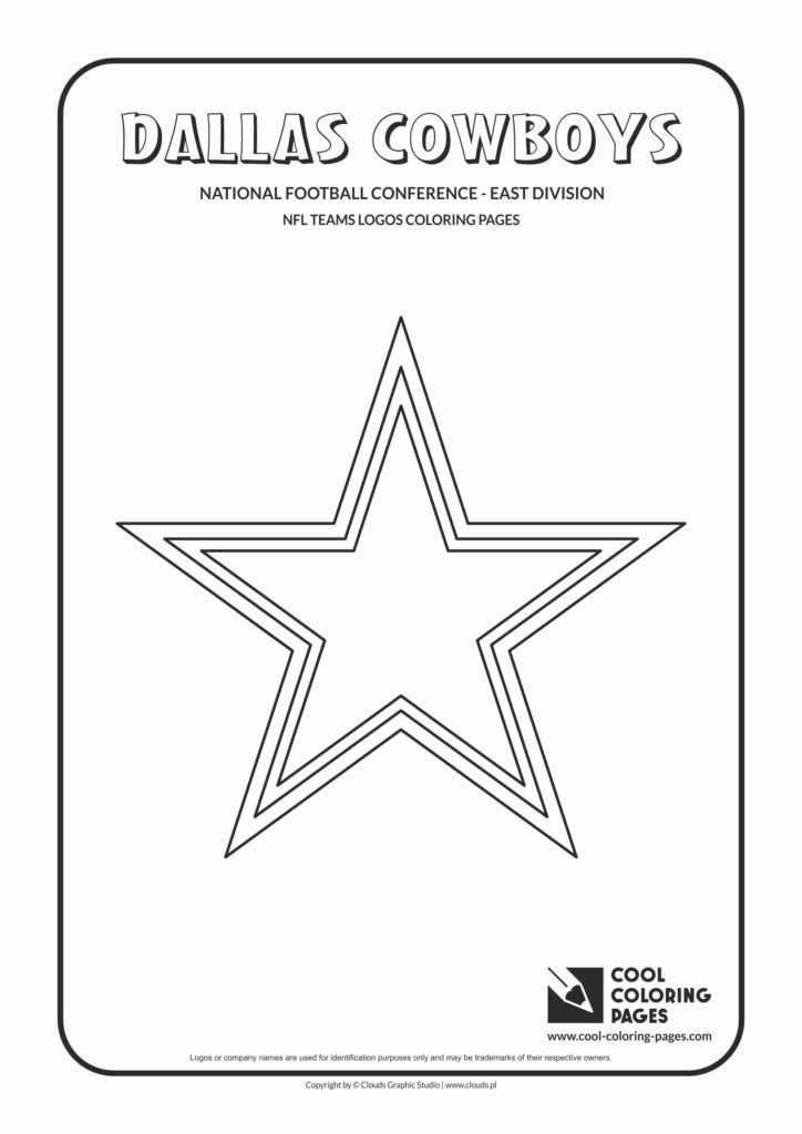 Cool Coloring Pages Dallas Cowboys