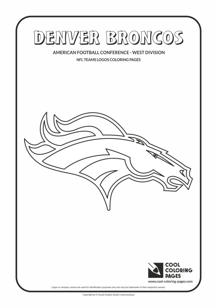 Cool Coloring Pages Denver Broncos - NFL American football ...
