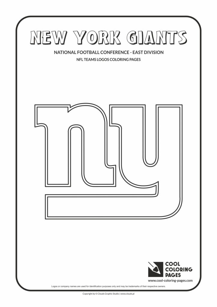 Cool Coloring Pages New York Giants Nfl American