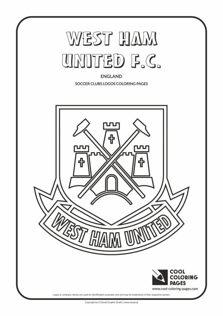 Cool Coloring Pages West Ham United F C Logo Coloring