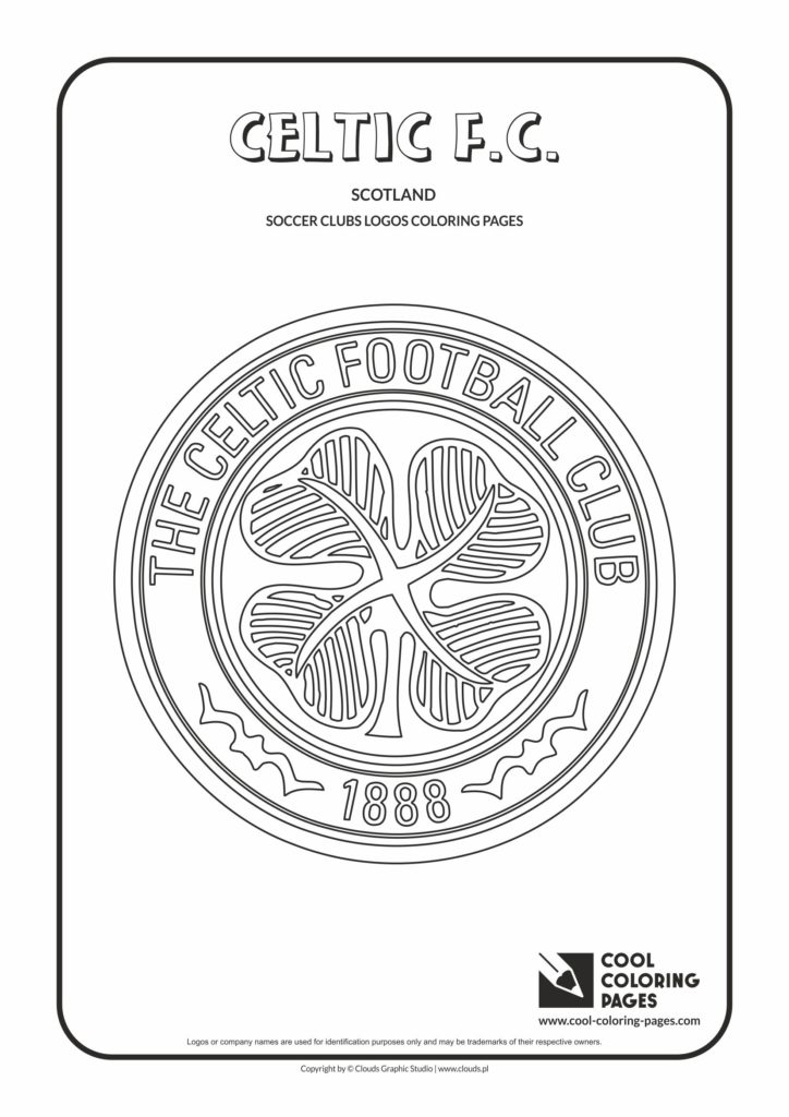 Cool Coloring Pages Celtic FC