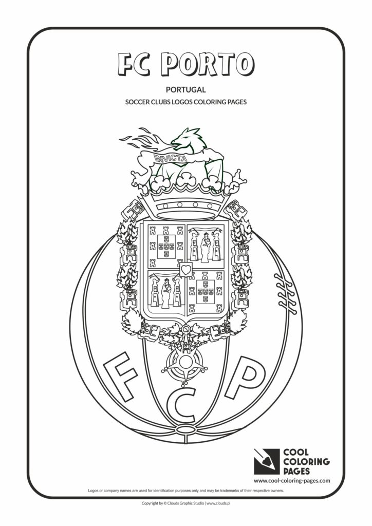 Cool Coloring Pages Fc Porto Logo Coloring Page Cool