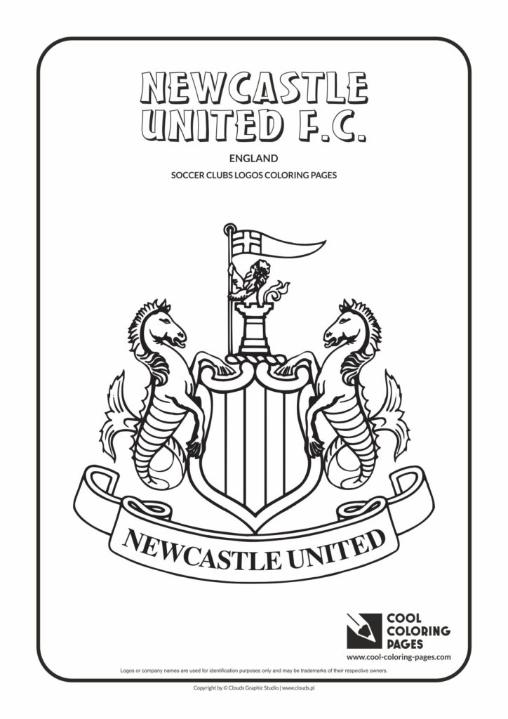 Cool Coloring Newcastle Pages United F.C.  coloring logo